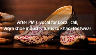 After PM's 'vocal for local' call, Agra shoe industry turns to khadi footwear